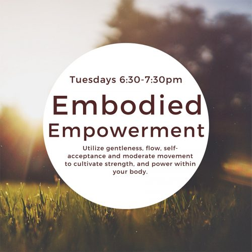 June 23 2020 Events.Embodiment Empowerment Radical Well Being Center